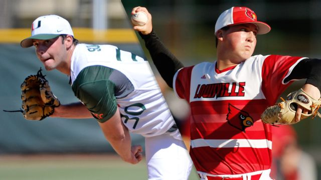 #16 Miami (FL) vs. #20 Louisville (Baseball)