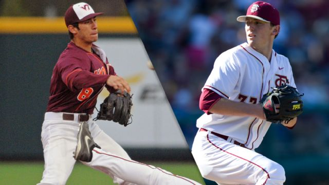 Virginia Tech vs. #9 Florida State (Baseball)