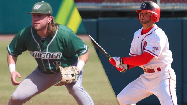 Wagner vs. St. John's (Baseball)