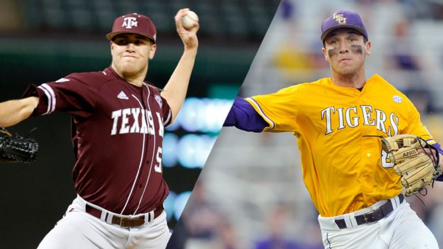 #2 Texas A&M vs. #1 LSU (Baseball) (re-air)