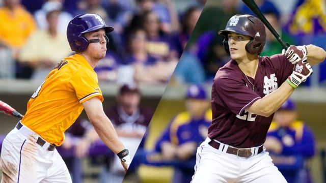 #1 LSU vs. Mississippi State (Baseball)