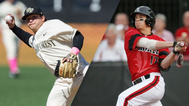 Wake Forest vs. #5 Louisville (Baseball)