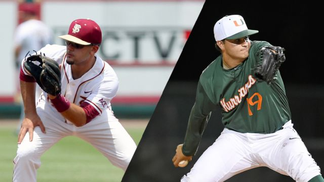 #11 Florida State vs. #13 Miami (FL) (Baseball) (re-air)