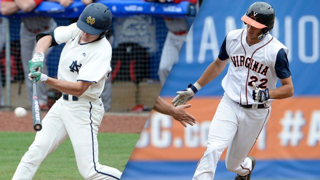 Notre Dame vs. #25 Virginia (Pool Play Round) (ACC Baseball Championship)