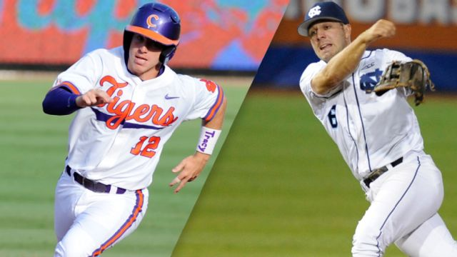 Clemson vs. North Carolina (Pool Play Round) (ACC Baseball Championship)