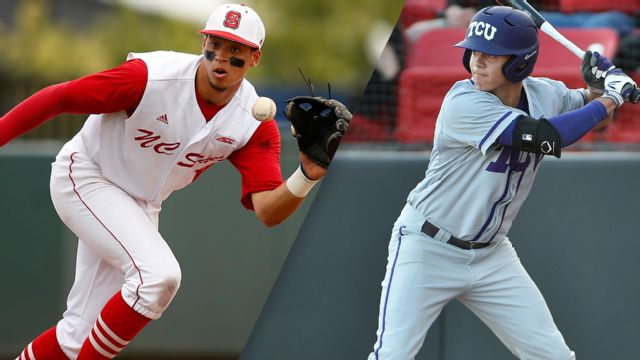 North Carolina State vs. #7 TCU (Site 12 / Game 7) (NCAA Baseball Championship)