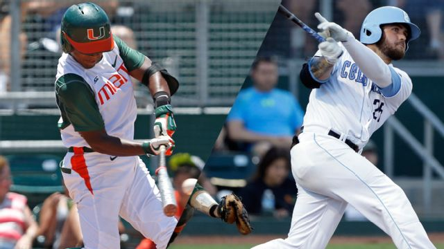 #5 Miami (FL) vs. Columbia (Site 5 / Game 7) (NCAA Baseball Championship)