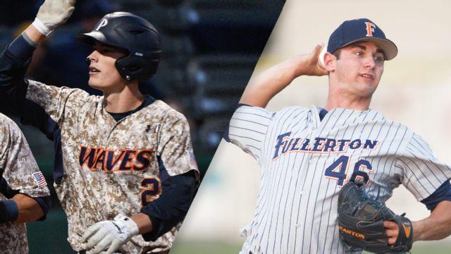 Pepperdine vs. Cal State Fullerton (Site 15 / Game 2) (NCAA Baseball Championship)