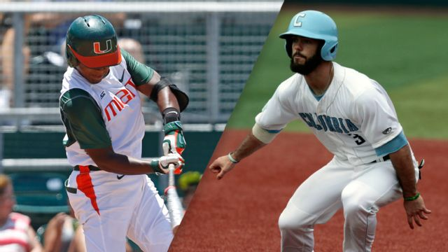 #5 Miami vs. Columbia (Site 5 / Game 4) (NCAA Baseball Championship)