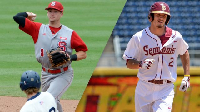 North Carolina State vs. #14 Florida State (Championship) (ACC Baseball Championship) (re-air)