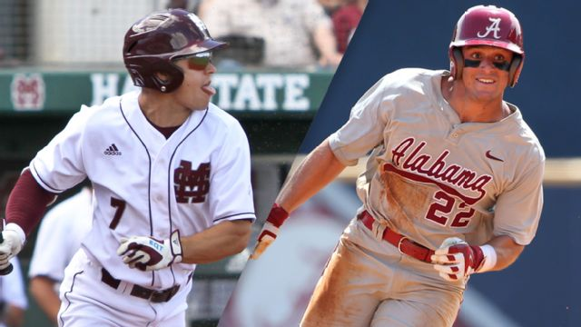 #4 Mississippi State vs. Alabama (Baseball)