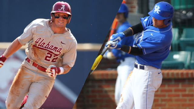 Alabama vs. Kentucky (First Round) (SEC Baseball Tournament) (re-air)