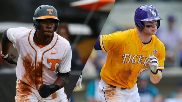 Tennessee vs. #7 LSU (First Round) (SEC Baseball Tournament)
