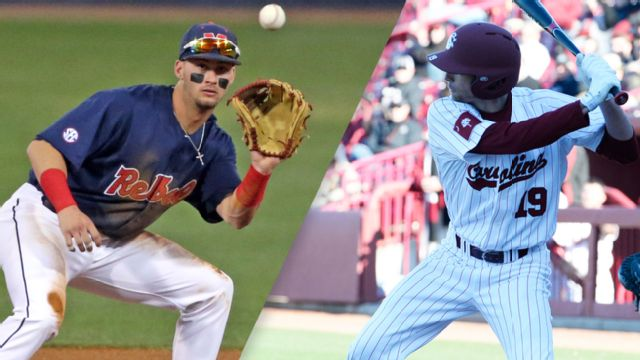 #10 Ole Miss vs. #9 South Carolina (Second Round) (SEC Baseball Tournament)