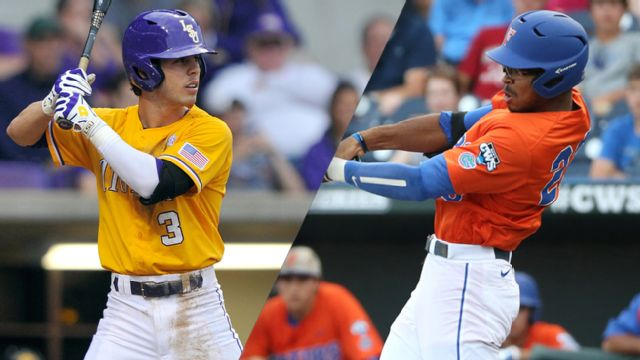 #7 LSU vs. #1 Florida (Second Round) (Second Round) (SEC Baseball Tournament)