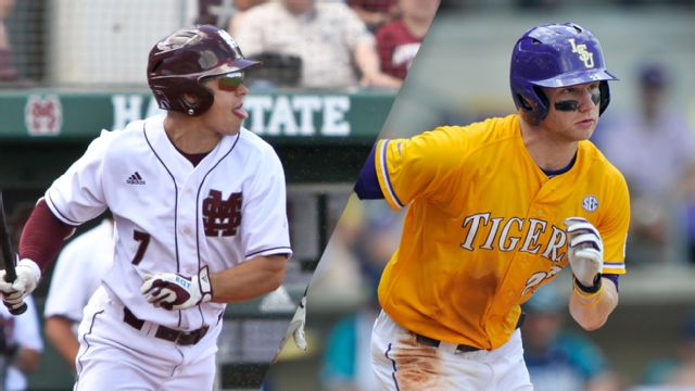 #3 Mississippi State vs. #7 LSU (Third Round) (SEC Baseball Tournament)
