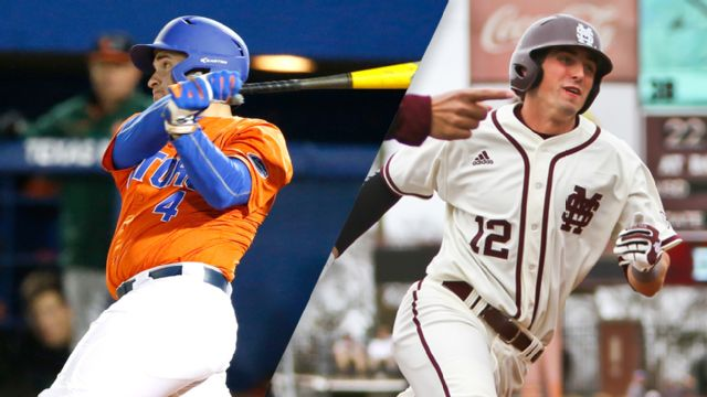 #1 Florida vs. #3 Mississippi State (Fourth Round) (SEC Baseball Tournament)