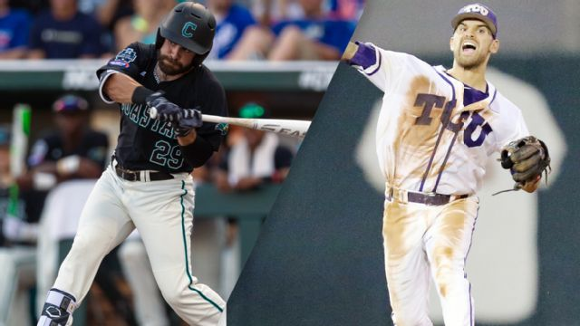 Coastal Carolina vs. TCU (Game 12) (College World Series)