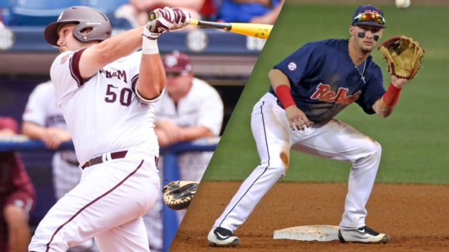 #2 Texas A&M vs. #10 Ole Miss (Semifinal #1) (SEC Baseball Tournament)