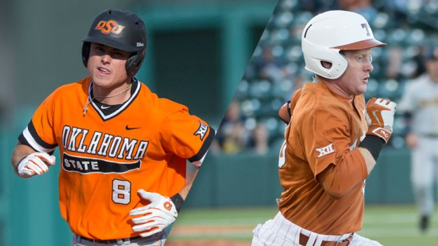 #22 Oklahoma State vs. Texas (Baseball) (re-air)