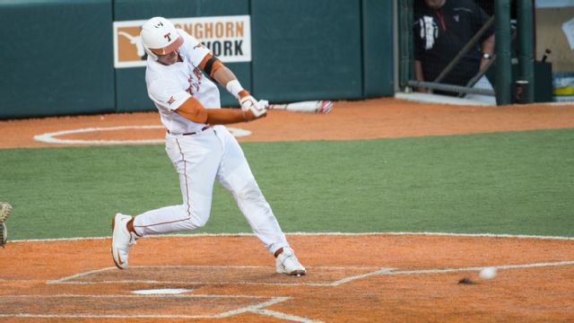 Texas State vs. Texas (Baseball) (re-air)