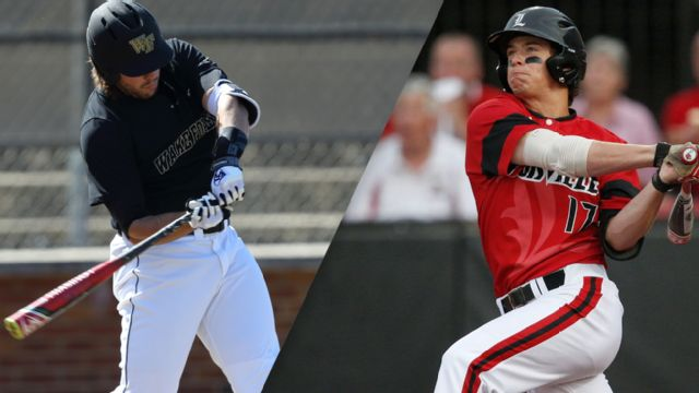 Wake Forest vs. #5 Louisville (Pool Play Round) (ACC Baseball Championship)