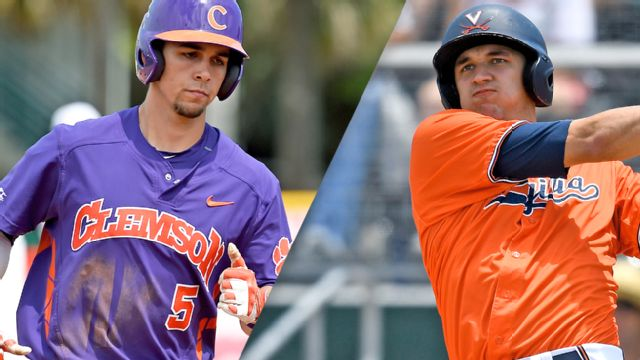#15 Clemson vs. #11 Virginia (Pool Play Round) (ACC Baseball Championship)