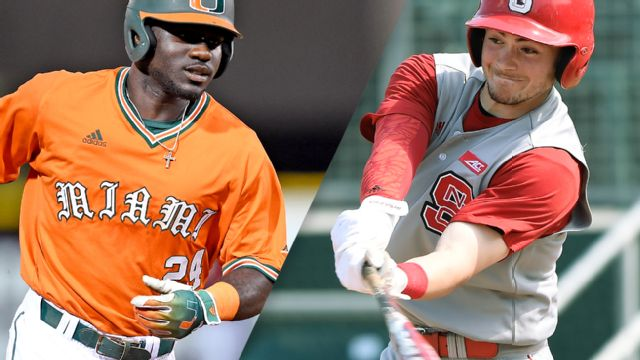#4 Miami (FL) vs. #14 North Carolina State (Pool Play Round) (ACC Baseball Championship)
