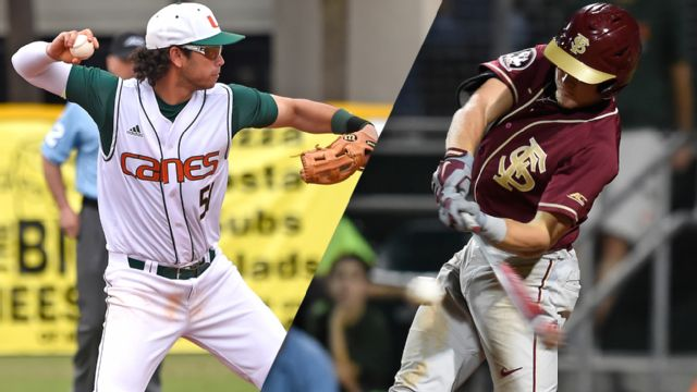 #4 Miami (FL) vs. #13 Florida State (Pool Play Round) (ACC Baseball Championship)