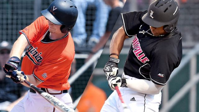 #11 Virginia vs. #5 Louisville (Pool Play Round) (ACC Baseball Championship)