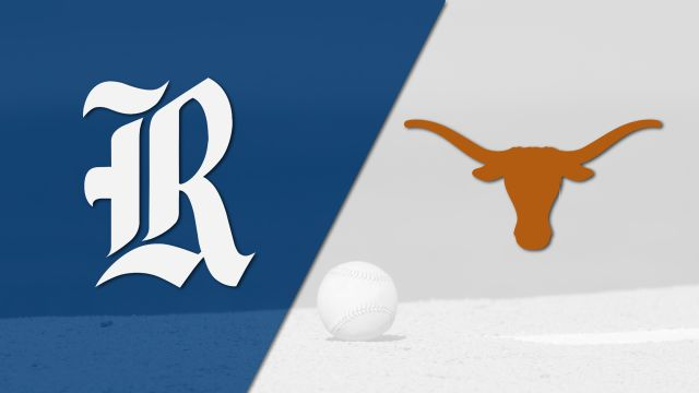 #25 Rice vs. Texas (Baseball) (re-air)