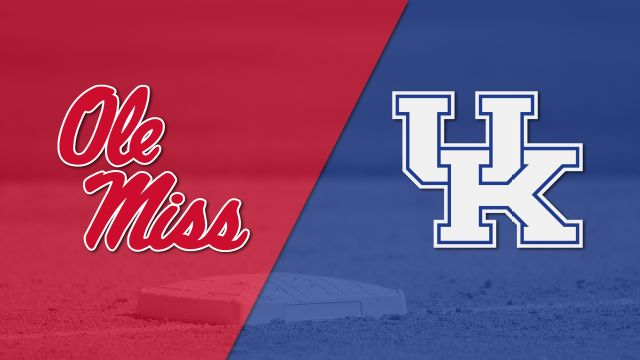 #14 Ole Miss vs. #25 Kentucky (Baseball)
