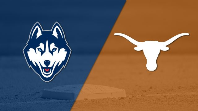 Connecticut vs. Texas (Baseball) (re-air)
