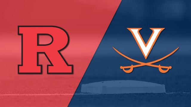 Rutgers vs. #18 Virginia (Baseball)