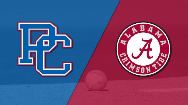 Presbyterian vs. Alabama (Baseball)