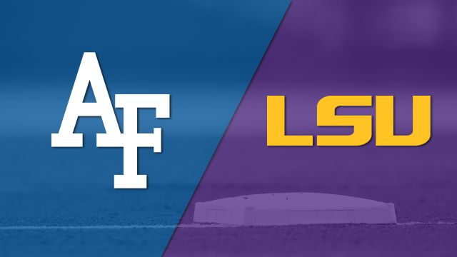 Air Force vs. #3 LSU (Baseball)