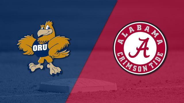 Oral Roberts vs. Alabama (Baseball)