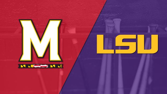 Maryland vs. #3 LSU (Baseball)