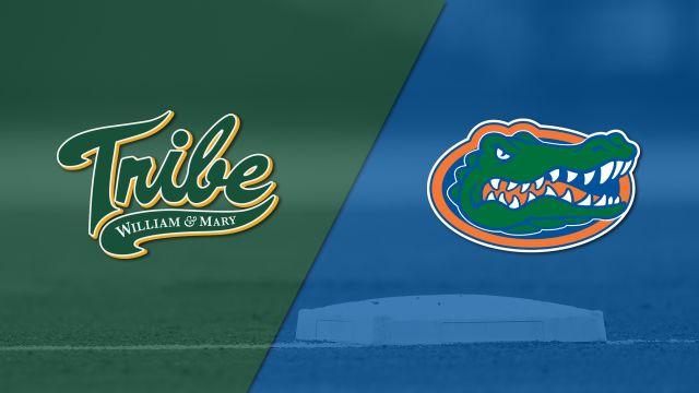 William & Mary vs. #2 Florida (Baseball)