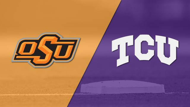 Oklahoma State vs. #5 TCU (Baseball)