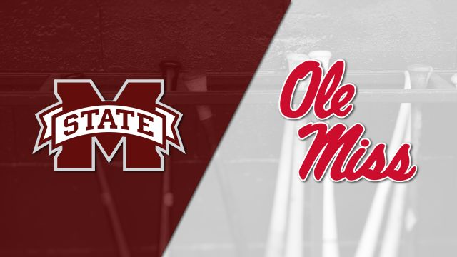 Mississippi State vs. #22 Ole Miss (Baseball)