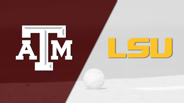 Texas A&M vs. #8 LSU (Baseball)