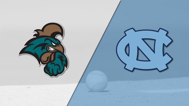 Coastal Carolina vs. #7 North Carolina (Baseball)