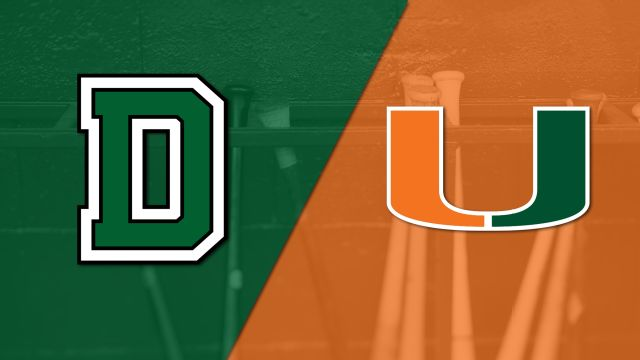 Dartmouth vs. #17 Miami (Baseball)