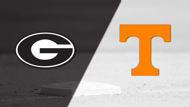 Georgia vs. Tennessee (Baseball)