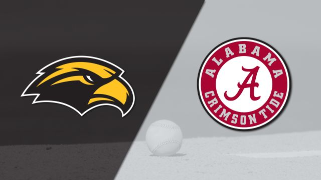 Southern Mississippi vs. Alabama (Baseball)