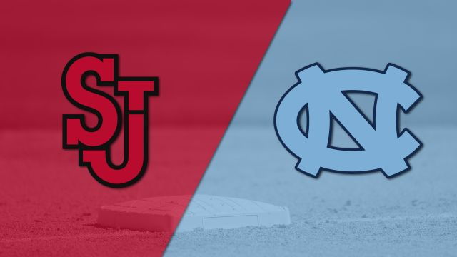 St. John's vs. #13 North Carolina (Baseball)