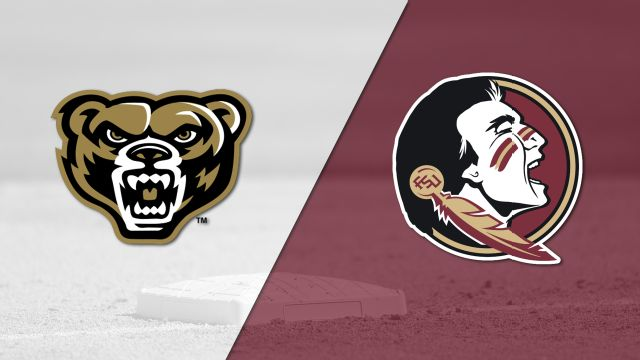 Oakland vs. #5 Florida State (Baseball)