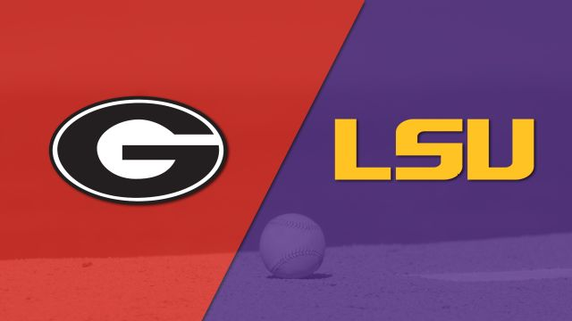 Georgia vs. LSU (Baseball)