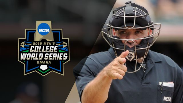 Ump Cam - #1 Florida vs. #9 Texas Tech (Game 10) (College World Series)